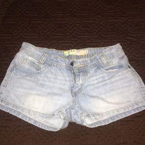 Denim ROXY shorts